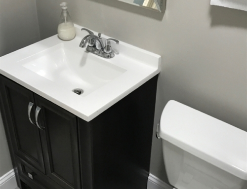Commercial Bathroom Painting